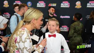 Mason Ramsey Teases New Music And Sings Bebe Rexha's Meant To Be At The 2018 RDMAs!