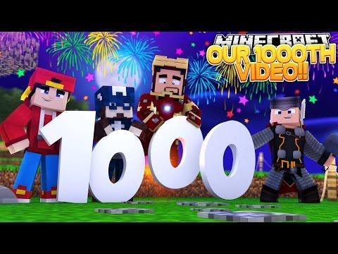 Minecraft Adventure - 1000th VIDEO SPECIAL!!!