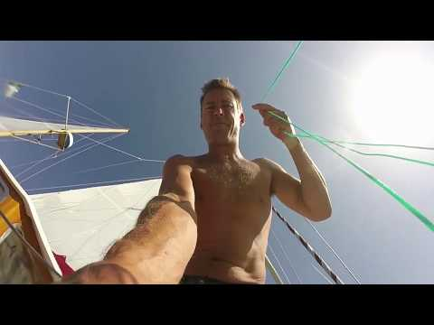 Sailing from Menorca to Morocco; 570nm through the Mediterranean