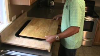 Easy Install Cutting Board