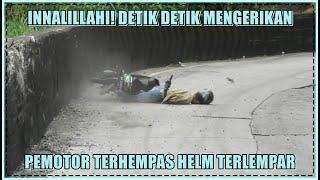 Download Innalillahi, Live Detik Detik Mengerikan Pengendara Motor Rem Blong Terhempas di Sitinjau Lauik