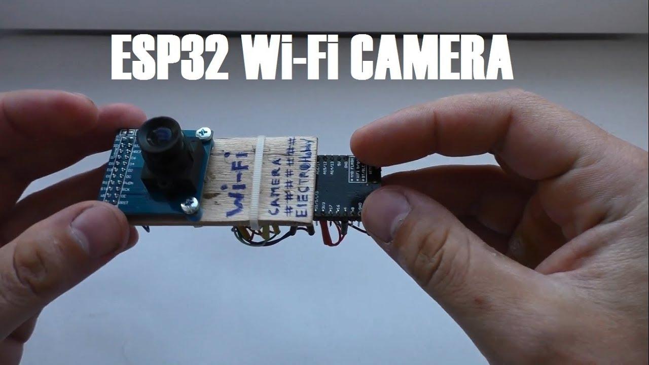 ESP32 wifi camera