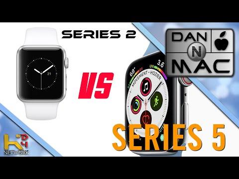Apple Watch Series 2 VS Series 5