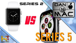 Apple Watch Series 2 VS Series 5