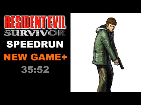 Resident Evil Survivor Speedrun 35:52 World Record