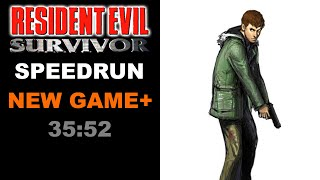 Resident Evil Survivor New Game+ Speedrun 35:52 World Record