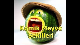 Komik Meyve ve Sebzeler, daha önce hiç görmediğiniz sebzeler, organik sebze - Belki rastlantı eseri, belki de uygulanan yanlış tarım politikaları nedeniyle garip şekillerde büyüyen meyve ve sebzeler yine yüzümüzü güldürmeye devam ediyor ...