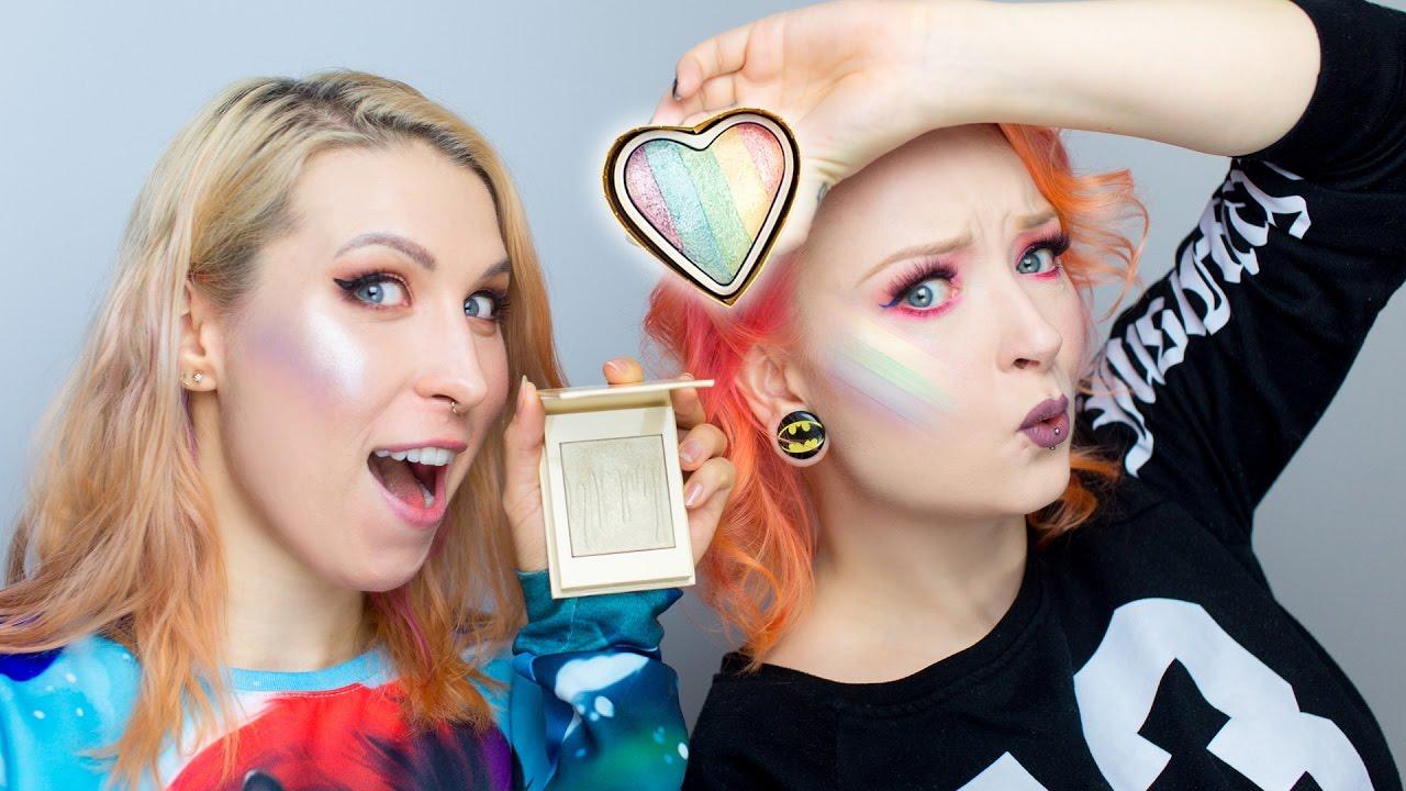 Blask Tęczowego Jednorożca Kontra Rozświetlacz Z Kylie Cosmetics