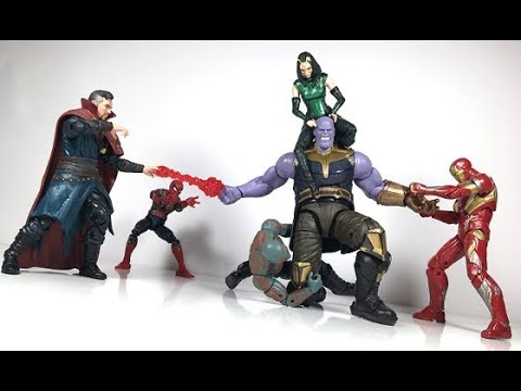 Marvel Legends Infinito Los Vengadores lucha Thanos Serie Iron Man-Nuevo en la acción