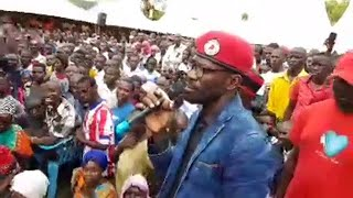 Bobi Wine Escapes Prison and attends Burial in Bugiri