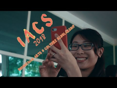 IACS2018 ( Indonesian Arts and Culture Scholarship 2018 ) Video 101