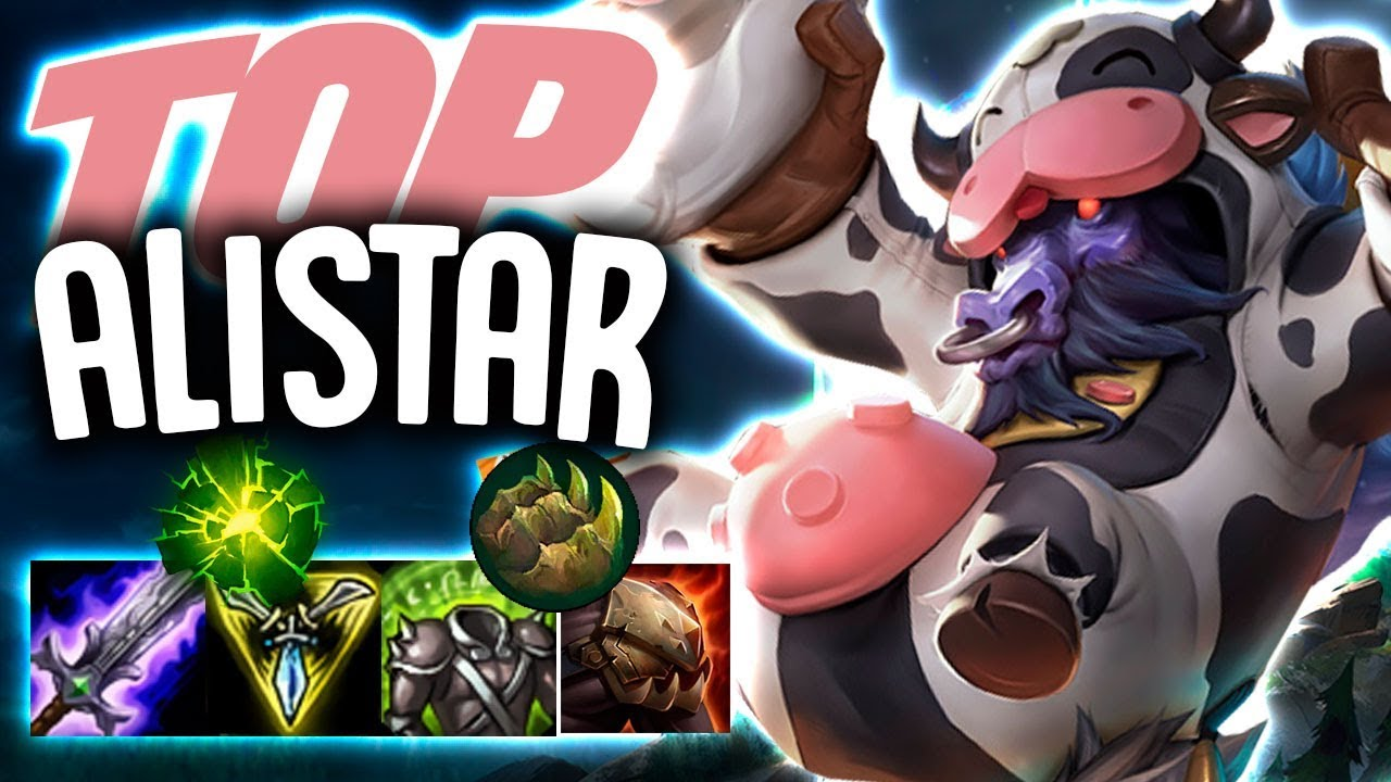 TRINITY FORCE ALISTAR DOMINATES TOP LANE!! - Off Meta Monday - Alistar Top  - League of Legends