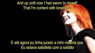 Paramore - The Only Exception (Lyrics/Legendado)