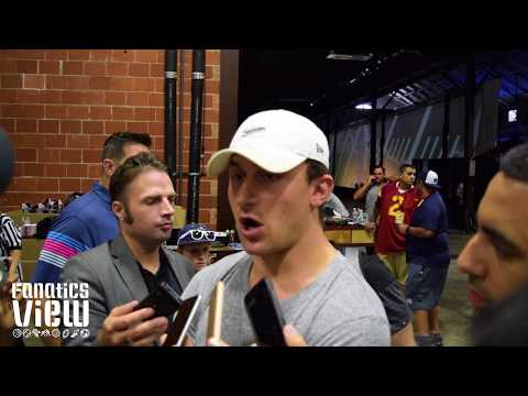 Johnny Manziel says he misses football & is hopeful of an NFL return (2017)