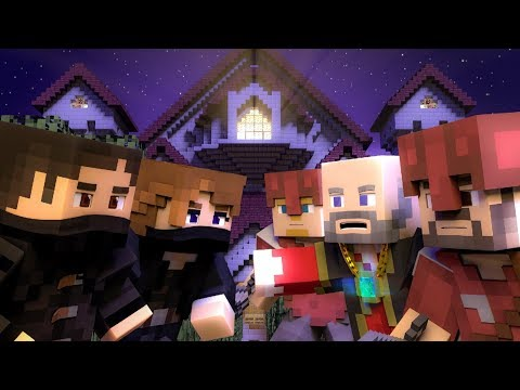 ♪ We Are The Night  A Minecraft Music Song ♪