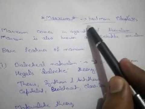 What is marxism in hindi Criticism of marxism