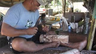 Hawaii May 2014 / Woodcarving A Richard Sherman Tiki