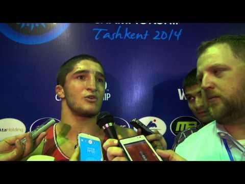 Abdulrashid SADULAEV (RUS): interview after his Gold Medal in Tashkent 2014