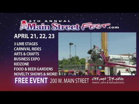 City of Grand Prairie: Main Street Fest 2017