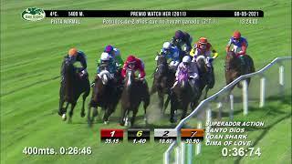Vidéo de la course PMU PREMIO WATCH HER 2011 (PELOTON B)