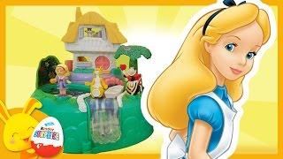 Histoire Polly Pocket Disney: Alice au Pays des Merveilles. Touni Toys Titounis