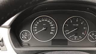 BMW F30 сброс интервала замены тормозных колодок и масла