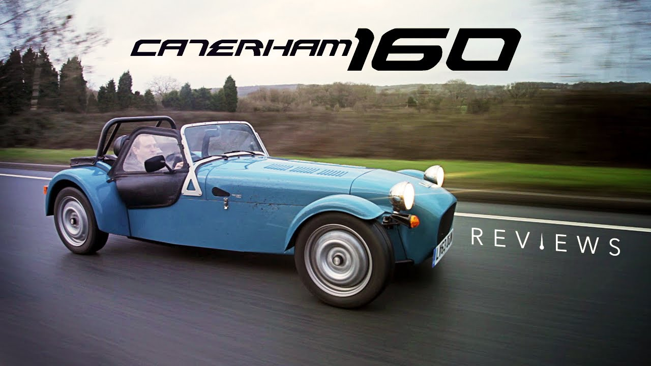 The Puny Caterham 160 Proves That Big Power Is Overrated