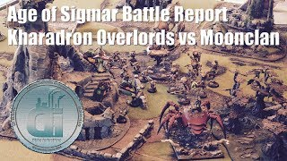 Age of Sigmar Battle Report - Kharadron Overlords vs Destruction Moonclan 2000 pts Game 3