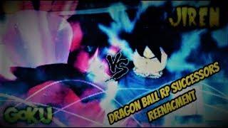 Roblox: DBRPSuccessors - Goku VS Jiren Reenacment!