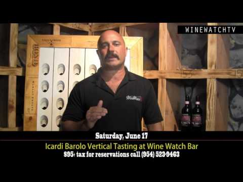 Icardi Barolo Vertical Tasting at Wine Watch Wine Bar - click image for video
