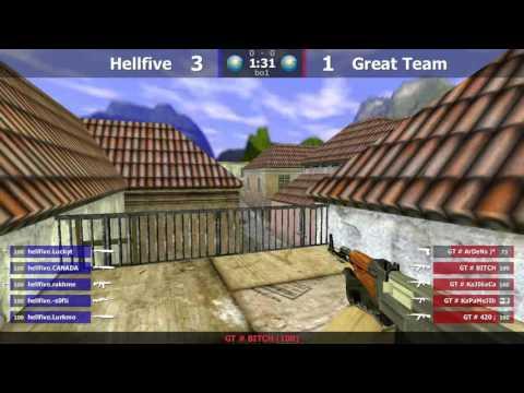 Stream / hellfive vs Great Team @de_inferno