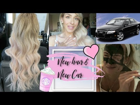 GETTING MY HAIR EXTENSIONS DONE & I BOUGHT A NEW CAR | Vlog July 18th 2019 thumbnail