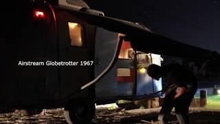 エアストリーム Vintage Airstream Travel Trailers awning A&E https:/...