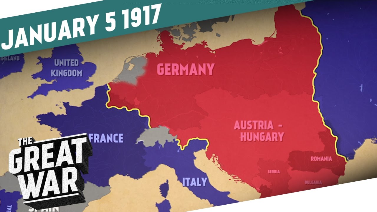 The world at war 1917 i the great war week 128 youtube gumiabroncs Gallery