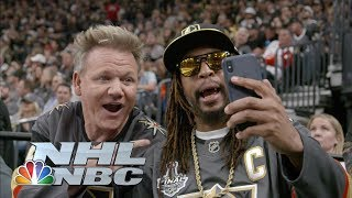 Lil Jon, Gordon Ramsay take in Game 6 of Sharks-Golden Knights | NHL | NBC Sports