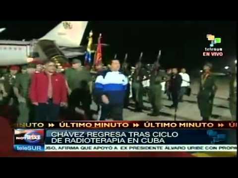 Hugo Chavez looks good and healthy