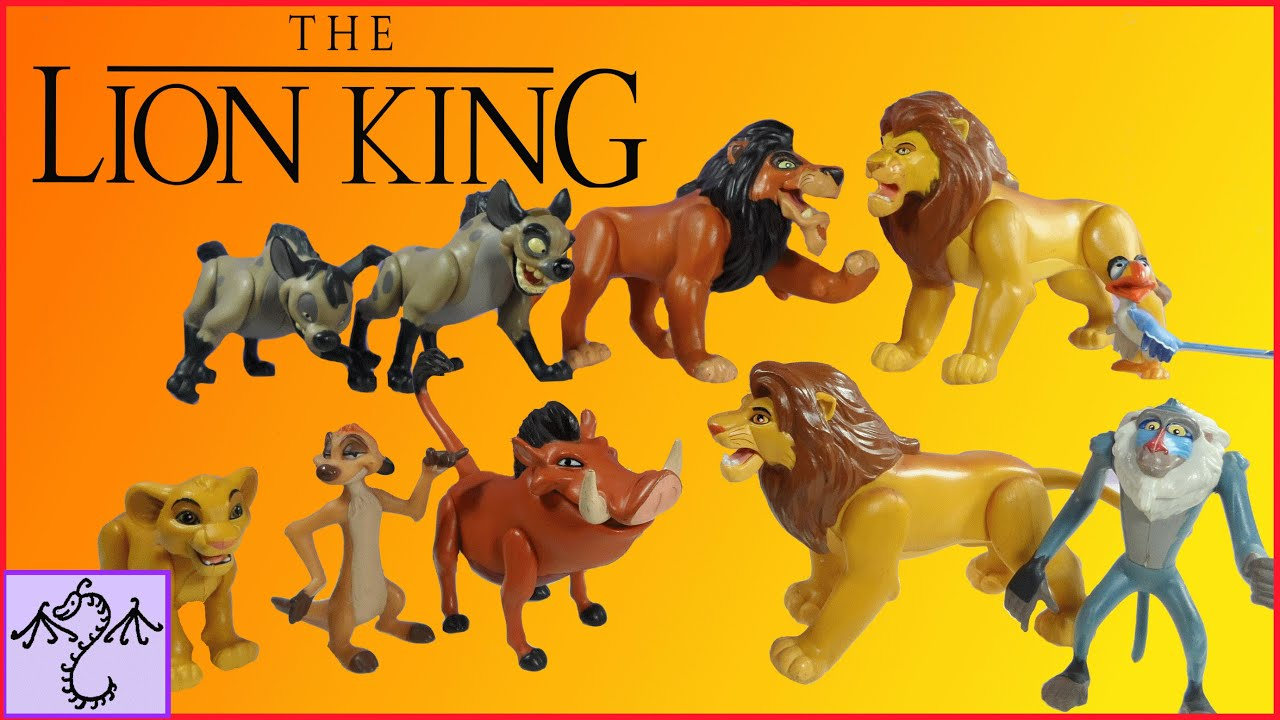 1994 Lion King Action Figures Collection Review Youtube