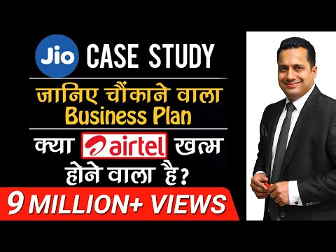 JIO का चौंकाने वाला Business Plan | A Case Study in Hindi | By Dr. Vivek Bindra Mp3