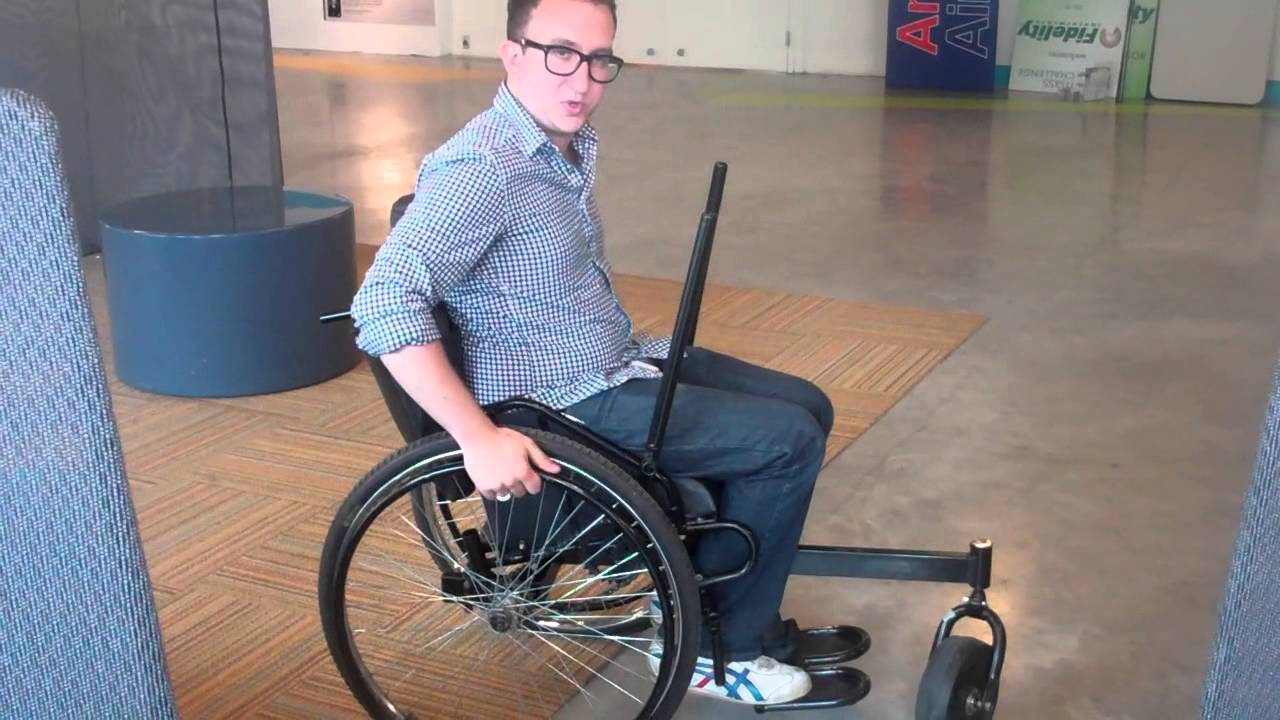 Leveraged Freedom Chair leveraged freedom wheelchair demo at masschallenge - youtube
