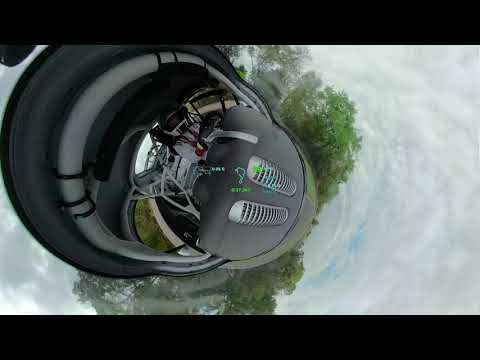 Tiny Planet Video of Race Car Qualifying Made With GoPro Fusion 360 - MARRS 9 Race