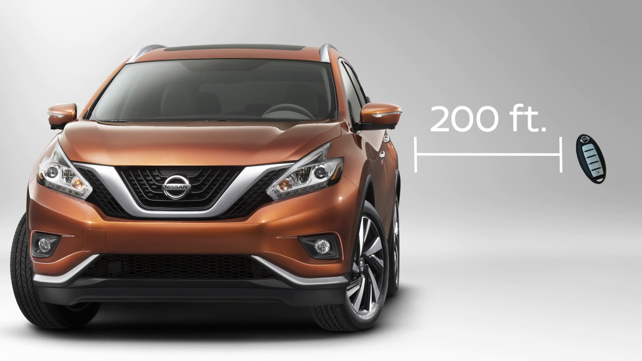 Nissan Murano Remote Engine Start If So Equipped