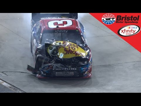 Keselowski and Busch wreck, collects Dillon