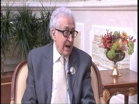 Exclusive Interview: Lakhdar Brahimi, UN & AL Special Envoy to Syria, during 25th Arab League Summit