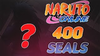 Naruto Online | 400 Seal Scrolls Into Great Ninja War Treasure!