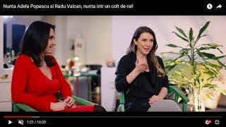 Nunta Adela Popescu si Radu Valcan, nunta intr un colt de rai!