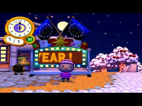 Animal Crossing: City Folk Parte 52 - New Year's Eve & New Year's Day