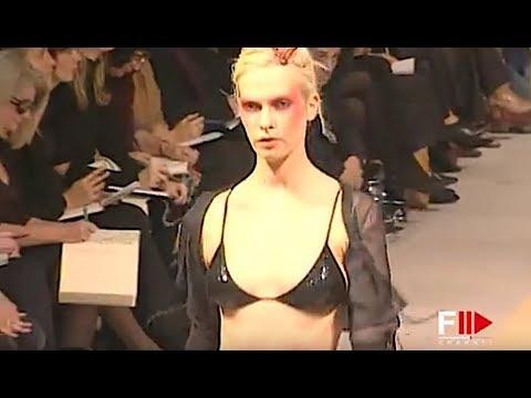 RIFAT OZBEK Spring Summer 1997 Milan - Fashion Channel