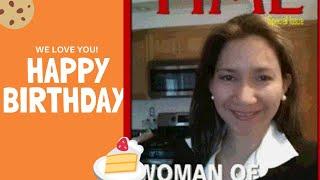 Happy birthday 🎂 Dear Sister