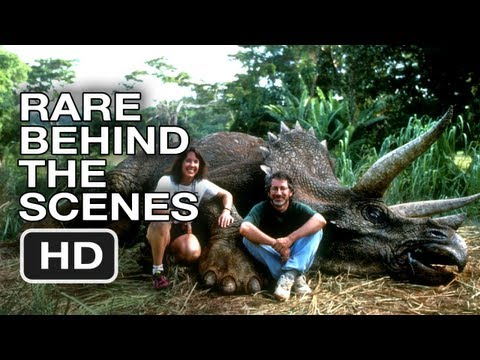 Jurassic Park - Rare Behind the Scenes Footage (1992) HD Movie