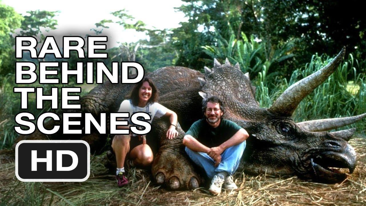 Jurassic Park - Rare Behind the Scenes Footage (1992) HD Movie